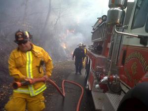 Chilhowie Fire 2