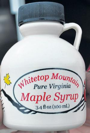 Maple syrup at Whitetop Mountain Festival