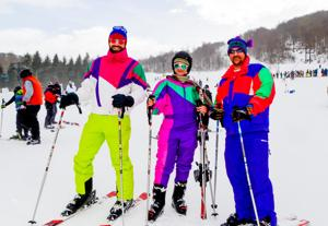 Retro Ski Weekend