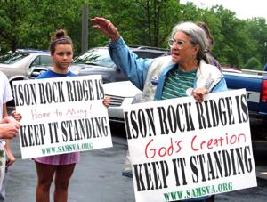 Ison Rock Ridge mining opponents haven't given up the fight