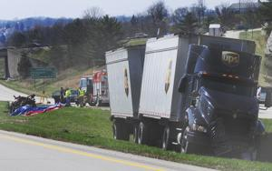 Roadside crash kills one