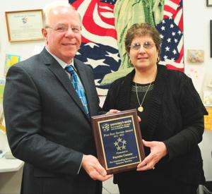 Veterans Affairs office honored
