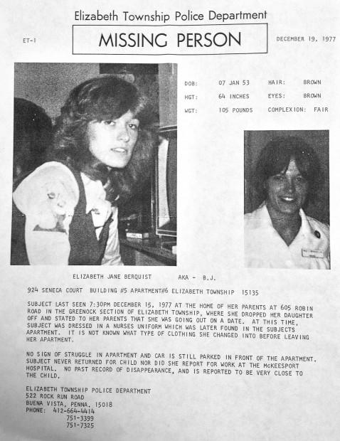 Cold Cases: Elizabeth Jane Berquist