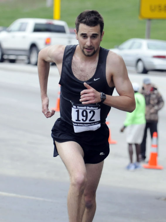 Jeff Palya wins the Mt. Summit Challenge