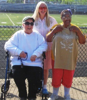 Winners of the 2012 Special Olympics T-shirt design