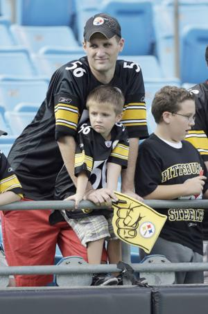 Fans upset with direction of Steelers