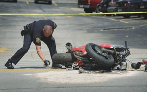 Motorcyclist killed in Uniontown