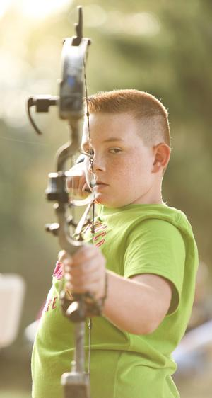 Youth archery teaches discipline, focus