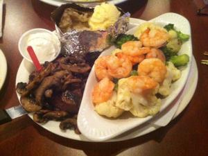Surf and Turf - Leo's Pub and Grille