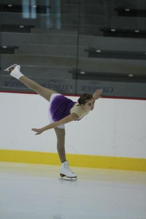 Local teen turns love of figure skating into success