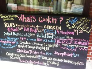 What's Cookin? Menu - Highwaters Grill, BBQ