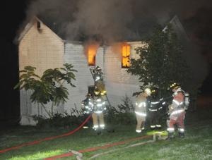 Flames engulf home in Dunbar Township