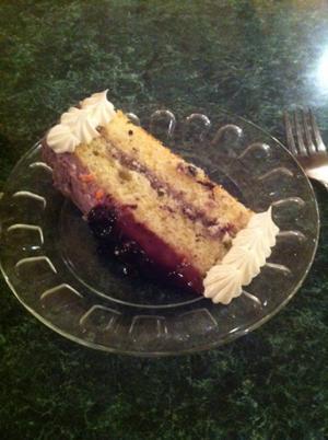 Blueberry Cake - Fairdale Inn