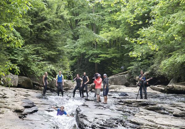 Ohiopyle water slides to be featured on Travel channel