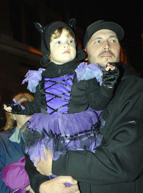 New Haven Hose Co. Halloween Parade held in Connellsville
