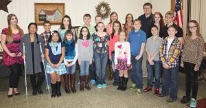 Carmichaels club recognizes art contest winners