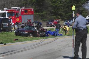 Roadside accident kills one