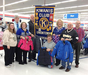 Kiwanis sponsors Coats for Kids
