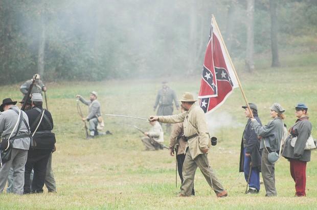 Re-enactors bring back the Civil War
