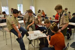For second straight year, Boy Scouts take campus