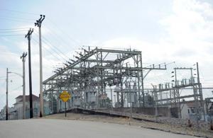 Lightning struck North Union substation