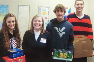 Uniontown students donate to Salvation Army