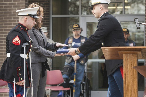 A service honored