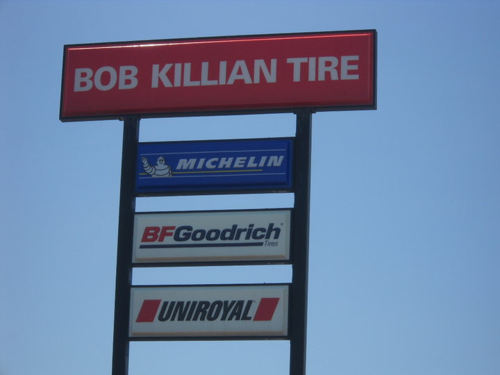 Bob Killian Tire Sales