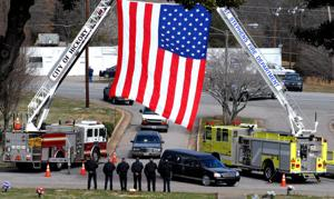 FUNERAL SERVICE FOR ARMY SPECIALIST DAVID TYLER PROCTOR