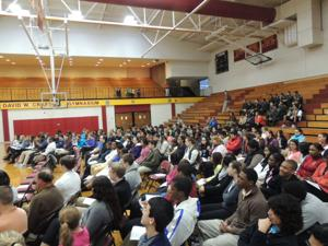 Hickory High School Black History event