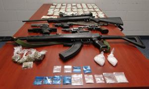 Caldwell meth, guns bust