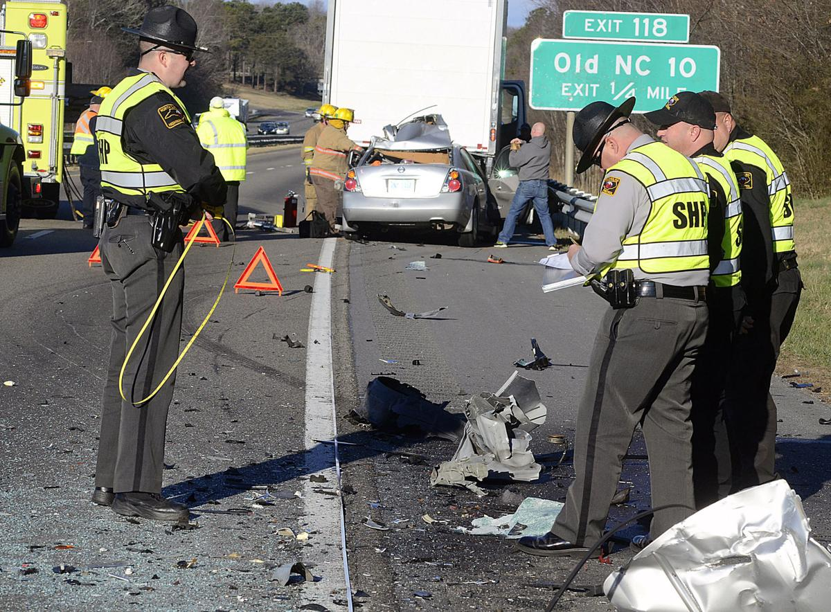 Hickory citizen killed in morning wreck on i 40 news for Roberts motors hickory nc