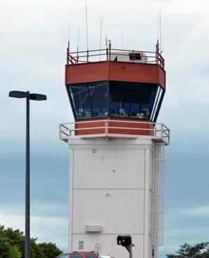 CONTROL TOWER AT HICKORY AIRPORT