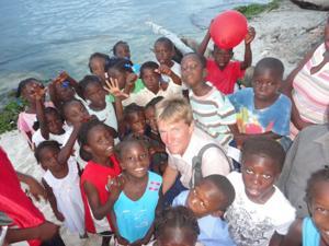 Rev. Patton in Haiti