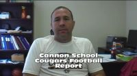 Cannon School Cougars Football Report