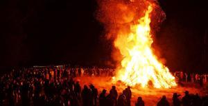 Mount Pleasant bonfire party