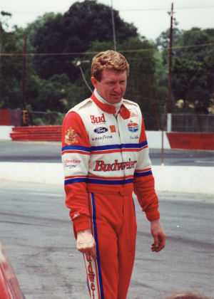 Bill Elliott at Hickory Motor Speedway
