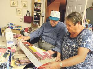 Hickory couple pass on warmth via blankets and quilts