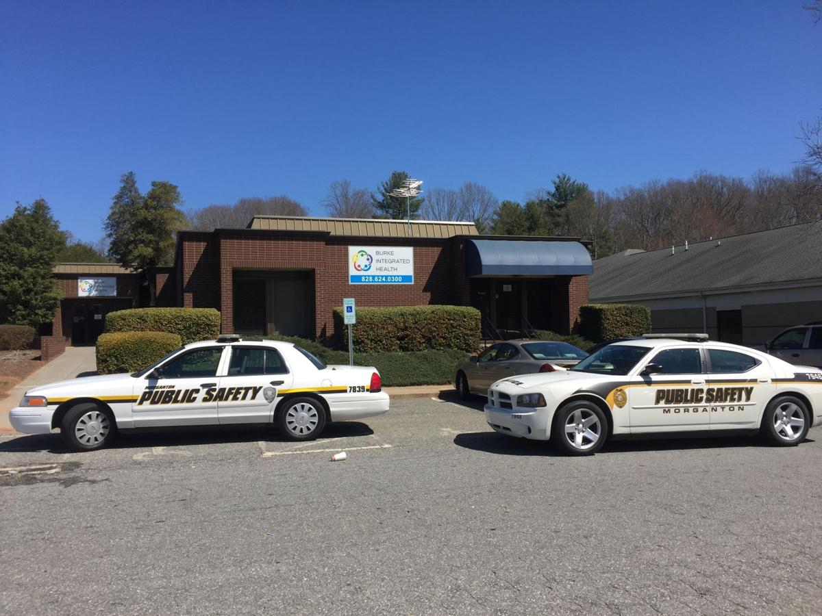 police businesses on lock down during standoff in morganton mdps east parker standoff