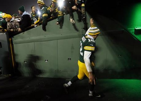Bills brace to host Rodgers, high-scoring Packers