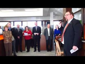 Bank of Sun Prairie Grand Avenue office ribboncutting -- 11-13-2015