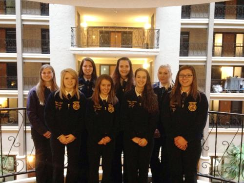 Sun Prairie FFA attends 360 Conference in Green Bay
