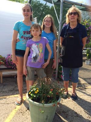 4-H flower project