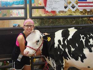 Dane County Fair exhibitor