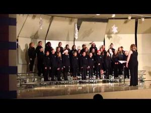 Patrick Marsh Middle School 6th Grade Choir 12-8-2014