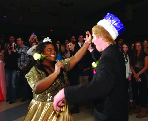 Tia White and Tillman Peterson named royalty