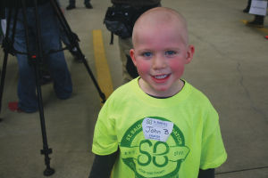 St. Baldrick's Head-Shaving Event at DeForest Area Fire/EMS Station