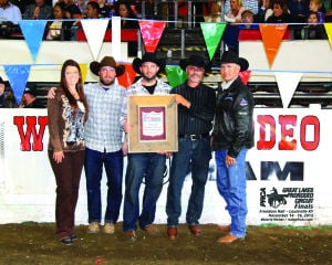 Cottage Grove Rodeo receives award