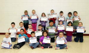 Waterloo Elementary March Principal Awards