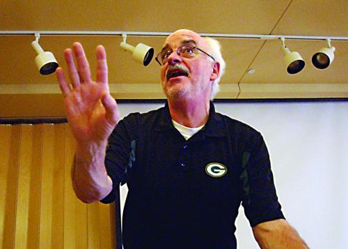 Packer speaker full of history